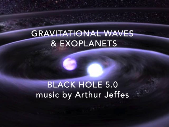 Gravitasyonel Dalgalar Müziğe Ayarlanıyor, Çok Yıldızlar