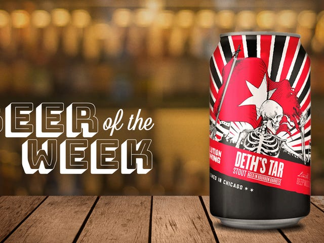 Beer Of The week: Revolution Brewing's Deth's Tar is a barrel-aged stout for chocolate lovers