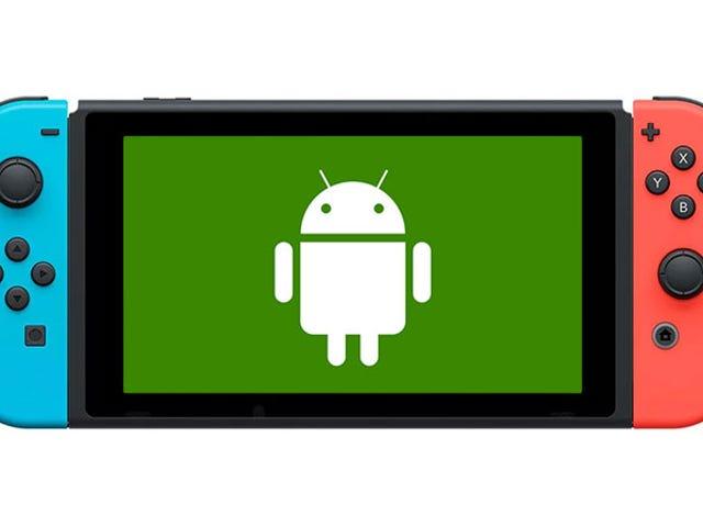 Android Kini Tidak Secara Secara Langsung Pada Nintendo Switch, Dan Ia Tampak Hebat