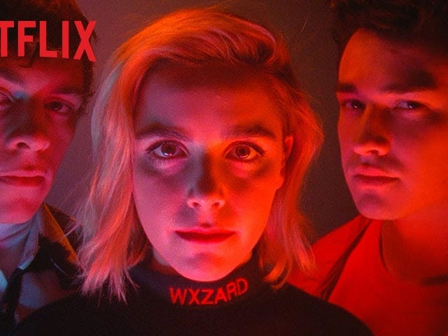 Is This a Sabrina Promo or a Perfume Ad?