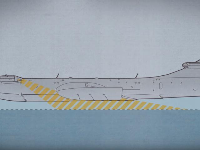 Esto es lo que sucedió con los monstruos marinos soviéticos de efecto tierra