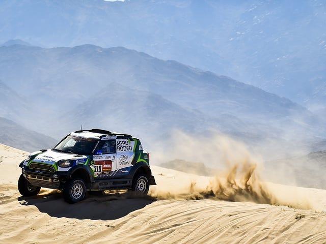 Mini Sweeps Top 3 In Dakar Rally Stage 1, Fernando Alonso In 11th