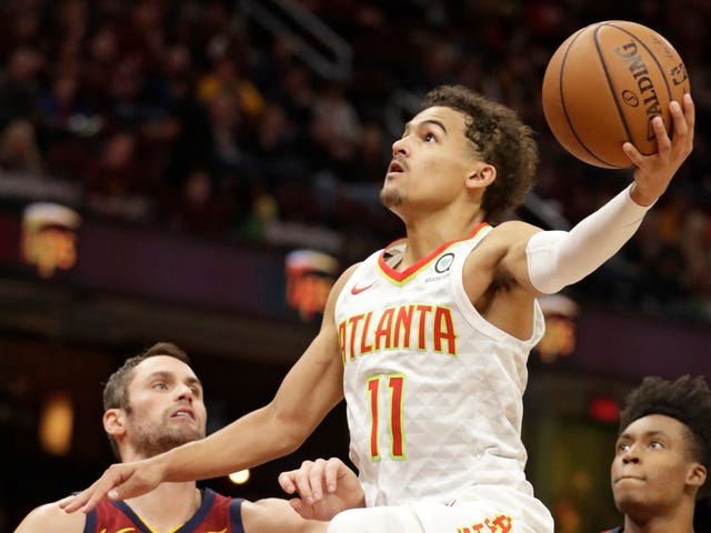 Trae Young Is Letting It Fly