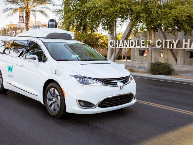The Future of Self-Driving Cars Is... Getting Rides to Walmart