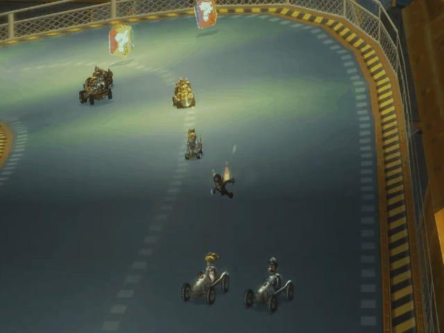 Mod hilarante permite que Waluigi corra Mario Kart corre a pie