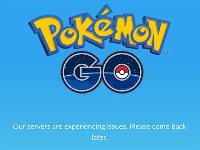 <i>Pokémon Go's</i> เปิดตัวระดับโลก <i>Pokémon Go's</i> &quot;หยุดชั่วคราว&quot;
