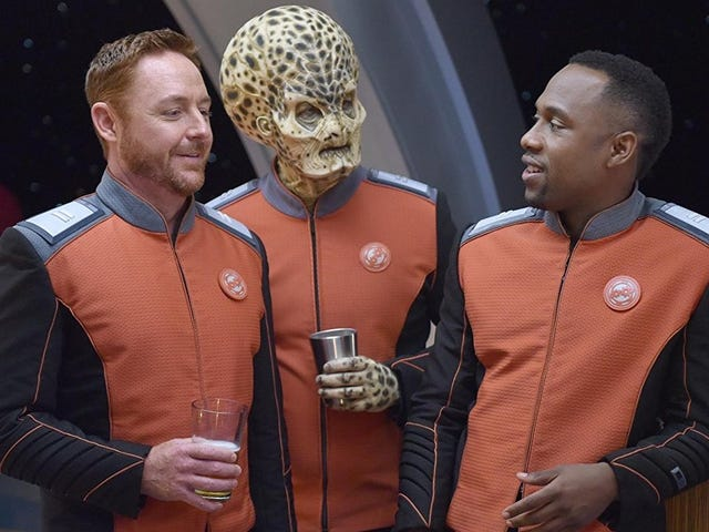 We meet John LaMarr again for the first time on a solid Orville