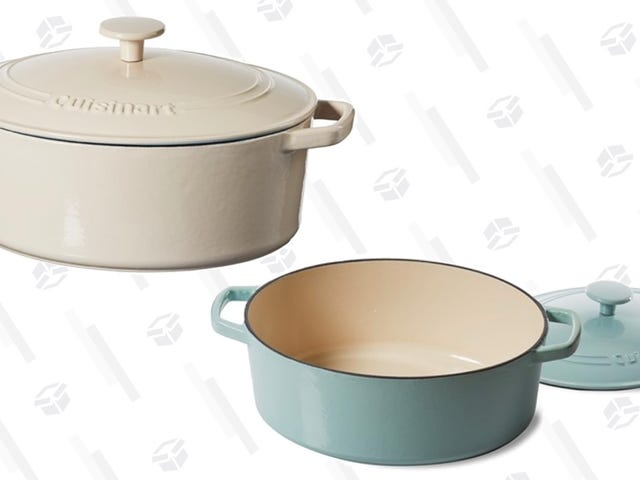 Amazon's Cooked Up Savings on Cuisinart's Popular Cast Iron Dutch Ovens, Today Only