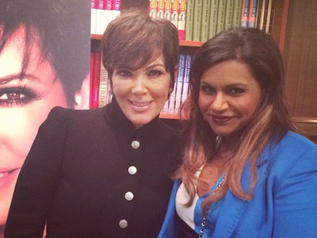 Kris Jenner Might Guest Star on <i>The Mindy Project</i>