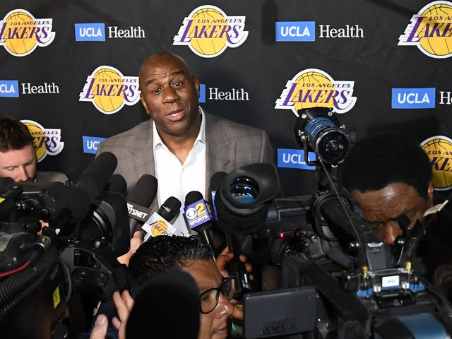 Magic Johnson Claims 'Betrayal' and 'Backstabbing' as Reasons He Abruptly Left the Los Angeles Lakers