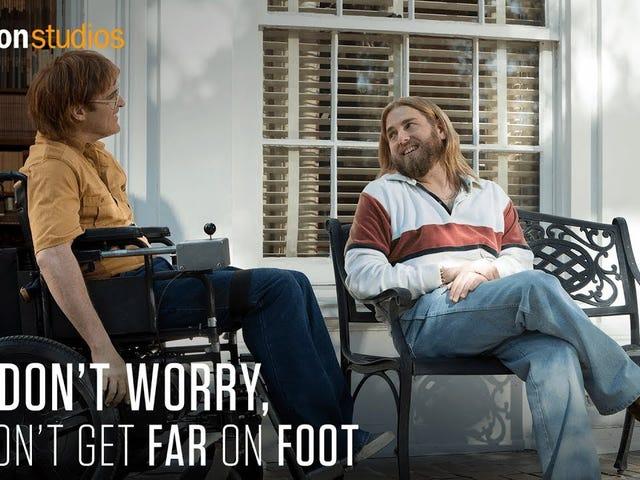 Joaquin Phoenix og Jonah Hill band i trailer for Gus Van Sant er ikke bekymret, han kommer ikke langt på foten