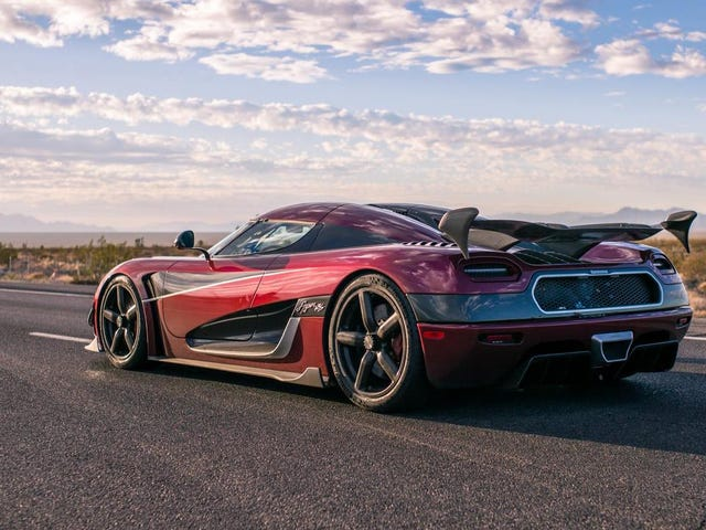 Here's What Koenigsegg Learned From Its Record 278 MPH Nevada Speed Run