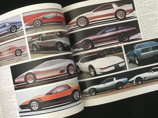 The Early Designs For The C4 Corvette Look Unforgivably Incredible