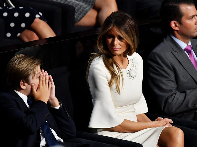 Melania Trump Calls Secret Service on Peter Fonda After He Tweets That He Wants to Put Her Son in a Cage With Pedophiles: Report