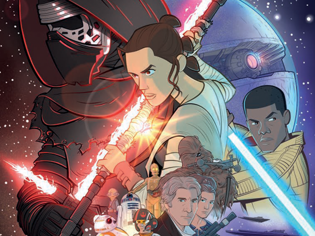 A Look Inside The Force Awakens' New All-Ages Comic Adaptation