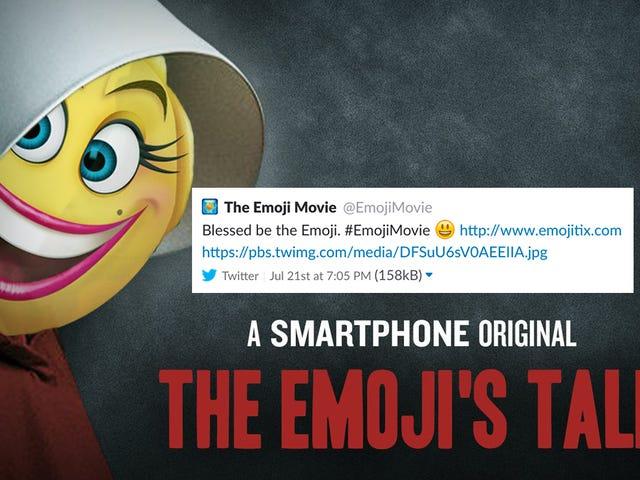 Onde este Emoji Movie Tweet?