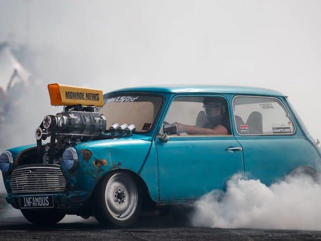 Tämä LS-moottoroitu Mini on kiistaton mestari Hooningista