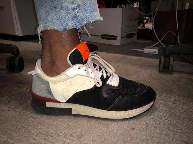 What Happens When You Visit The Root's Office With Exposed (and Moderately Ashy) Ankles