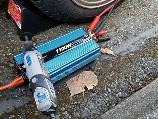 Living in a condo makes corded power tools inconvenient