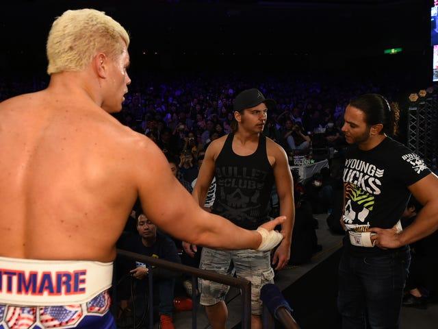 «All In» Anti-WWE Supershow продал более 10 000 билетов.  Что дальше?