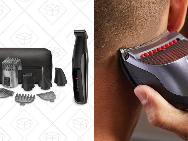 Groom Every Hair On Your Head With a Pair of Fantastic Remington Deals, Today Only