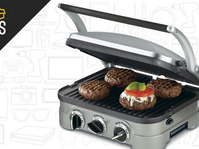 "<a href=""https://kinjadeals.theinventory.com/cuisinarts-versatile-griddler-is-on-sale-for-just-50-1764810626"" data-id="""" onClick=""window.ga('send', 'event', 'Permalink page click', 'Permalink page click - post header', 'standard');"">Cuisinart&#39;s Versatile Griddler Is On Sale For Just $50</a>"