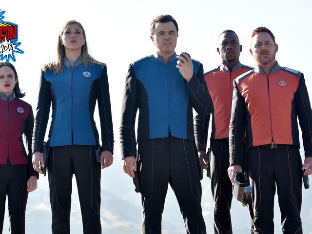 The Orville's Second Season Promises Space Shenanigans Galore