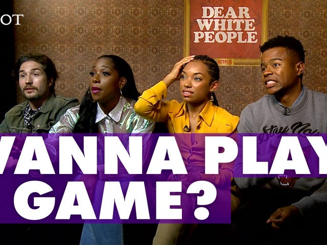 Dear White People Cast Members Play a Frustrating Game of Jesse Williams' 'Blebrity'