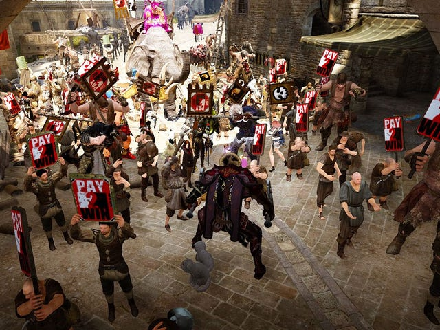 """Pay To Win"" Protests Hit The Streets Of Black Desert Online"