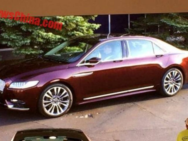 2017 Lincoln Continental: This Is More Of It