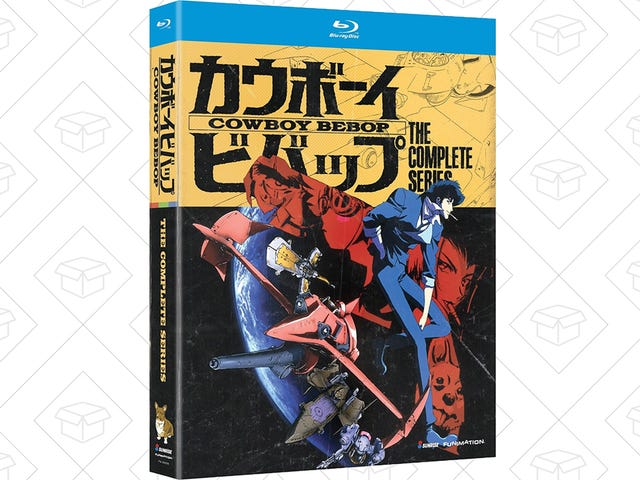 Add the Complete Cowboy Bebop Series To Your Blu-ray Collection For $22