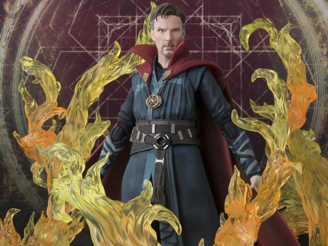 This Great Doctor Strange Figure Is on Fire (Not Literally)