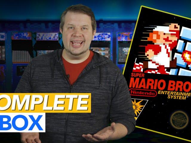 Para compreender verdadeiramente <i>Super Mario Bros.</i> , você precisa da caixa e manual