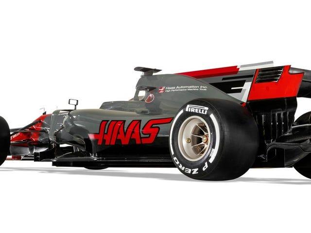 Ecco l'auto che porterà Haas per l'America in Formula Uno