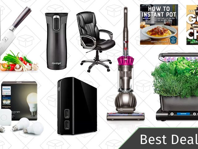 Saturday's Best Deals: Philips Hue Lights, Contigo Travel Mugs, Cooking Essentials, and More