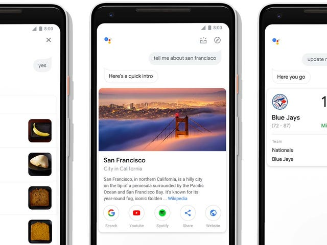 Google Assistant Just Got Upgraded With Better Touch Support and Richer Visuals