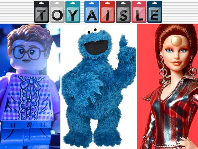 The Chance to Own Your Very Own Cookie Monster, and More of the Best Toys of the Week