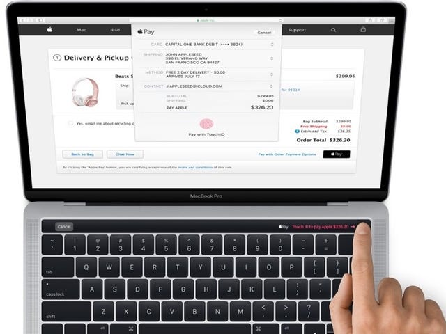 Confirmado:el nuevo MacBookProraveráunpaneltáctilsobreel teclado