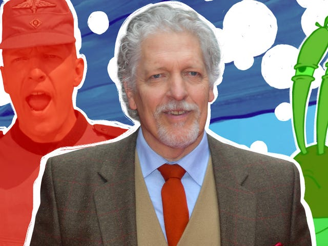 Clancy Brown on his diverse career, from playing baddies in Starship Troopers and Shawshank Redemption to voicing Mr. Krabs
