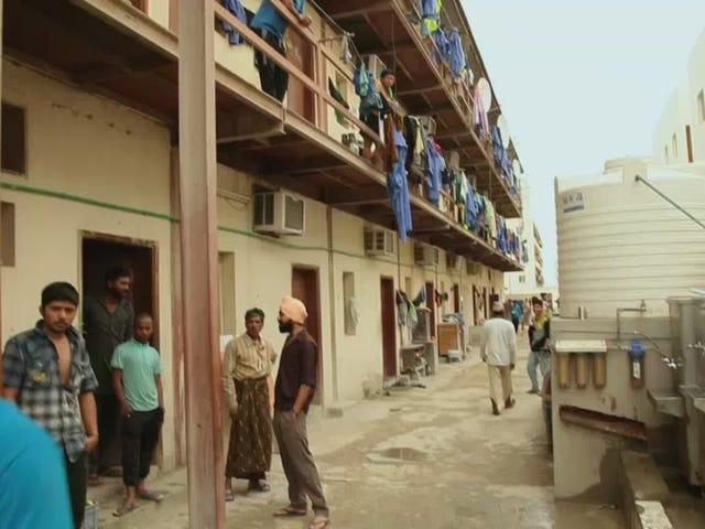 Το γερμανικό τηλεοπτικό πρόγραμμα δείχνει τις καταστάσεις σκωρίας του Κατάρ, περισσότερη διαφθορά της FIFA
