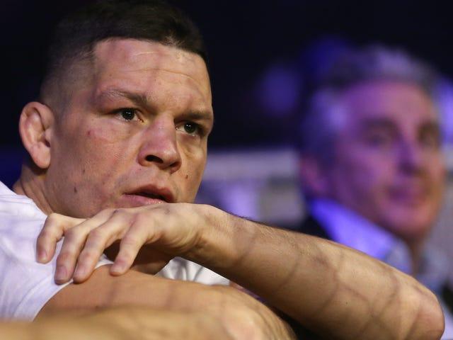 "Nate Diaz se retira del evento de UFC, afirma ""Todo en esteroides, no yo"""