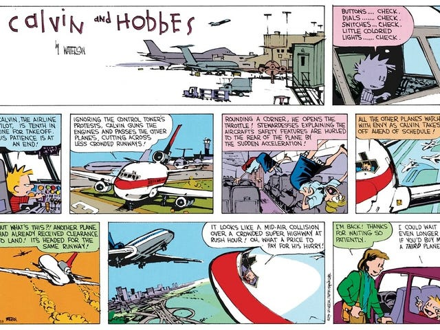 Calvin / Planelopnik