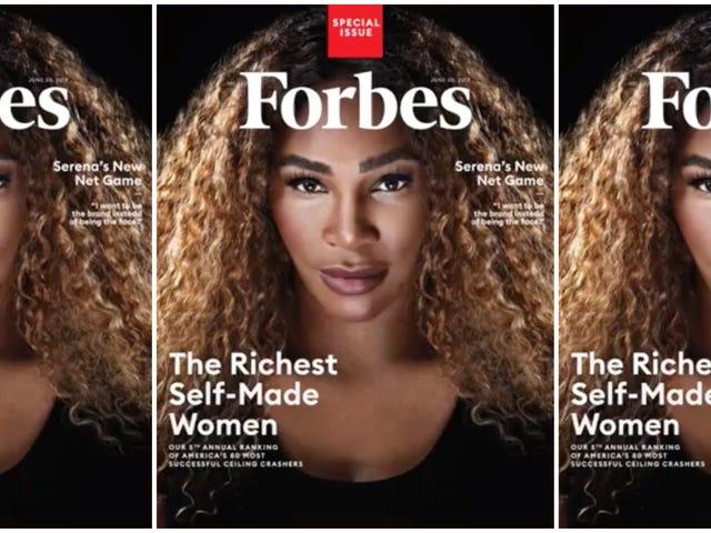 Η Serena Williams είναι ο πρώτος αθλητής που θα καταστήσει τον κατάλογο των πιο πλούσιων γυναικών του κόσμου της Forbes - Επενδύοντας στον εαυτό του