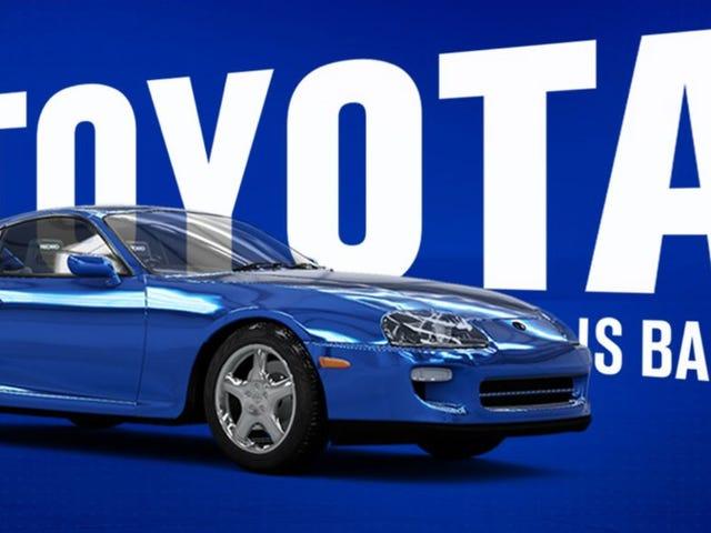 Toyota Mengakhiri Penampilan Aneh Dari Game Balap