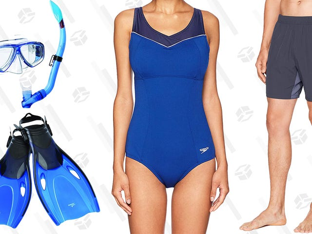 Save Big on Speedo Swimwear and Accessories, Today Only on Amazon