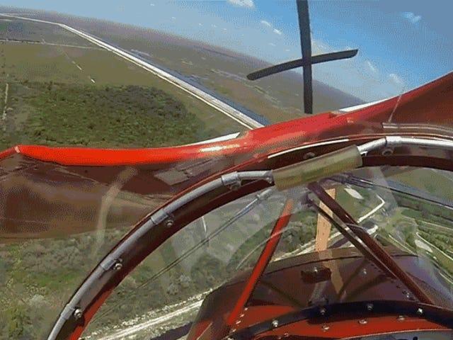 Pilot Stunt Luckiest Pernah Ajaib Menghindari Crash-Landing Setelah Mesinnya Meninggal