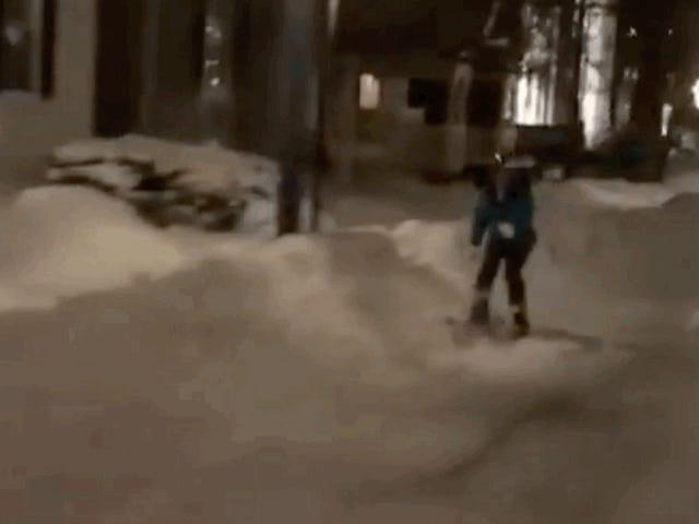 Araba başarısız Powered by kayakçı