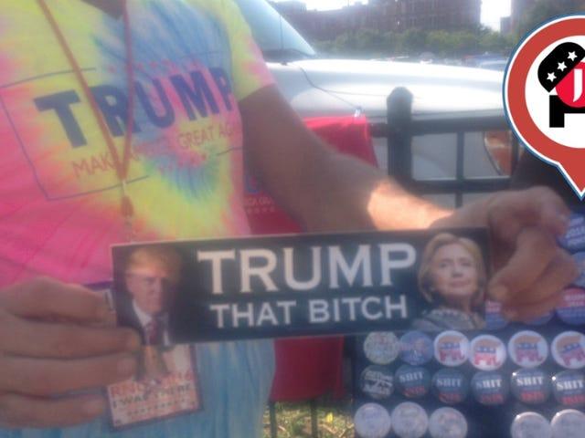 Se stai cercando un sacco di brutalmente sessista anti-Hillary Clinton Merch, visita il RNC