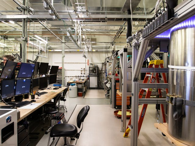 First Look at 'Sycamore,' Google's Quantum Computer