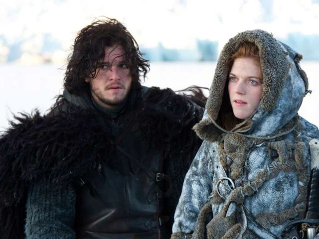 No, Kit Harington Didn't Spoil the End of Game of Thronesfor Rose Leslie
